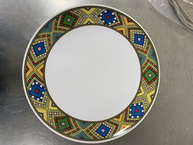 የምግብ መብያ ትሪ ክብ Eating tray circular