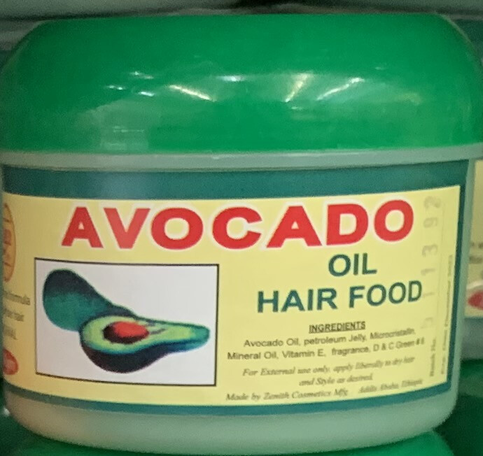 ዜኒት አቮካዶ የፀጉት ቅባት Zenith avocado hair oil