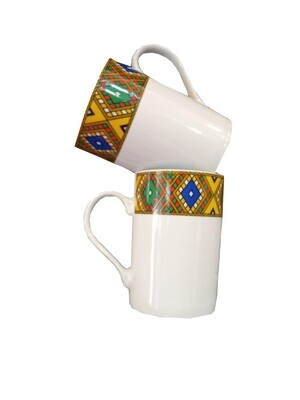 Ethiopian Traditional  Coffee Mug