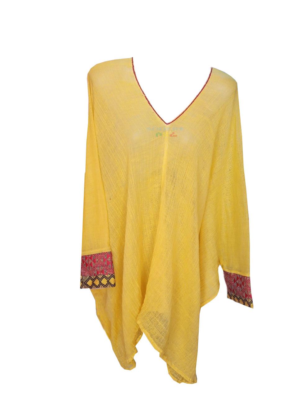 የሴቶች አላባሽ  Ethiopian Traditional Women Top Free Size