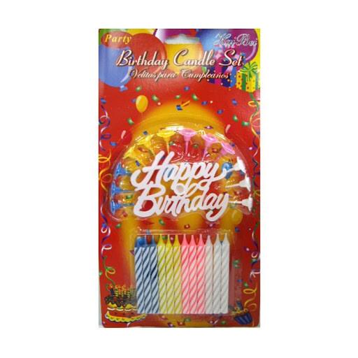 የልደት ሻማዎች Birthday  Candles Set 12 (Ethiopia Only)