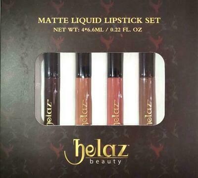 Helaz Beauty NUDE Collection  Bundle | Gift Set