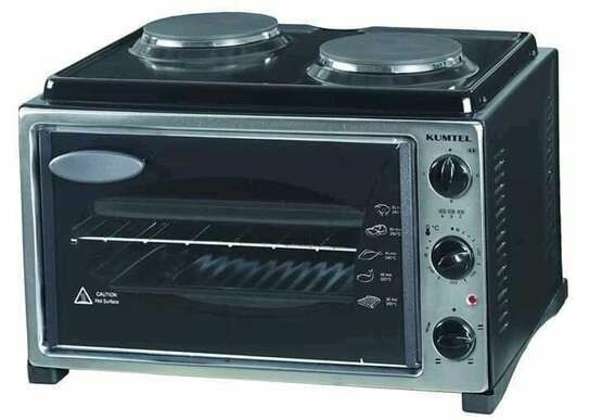 Kumtel Countertop Oven And Stove (Ethiopia only)