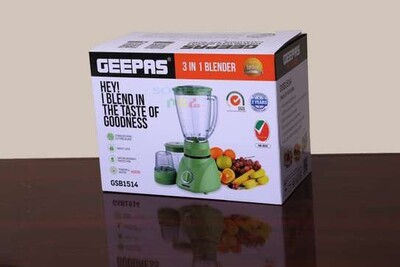 Geepas Blender And Grinder  (Ethiopia only)