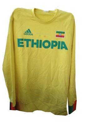 የኢትዮጵያ የስፖርት ቱታ  Ethiopian Adidas Sportswear