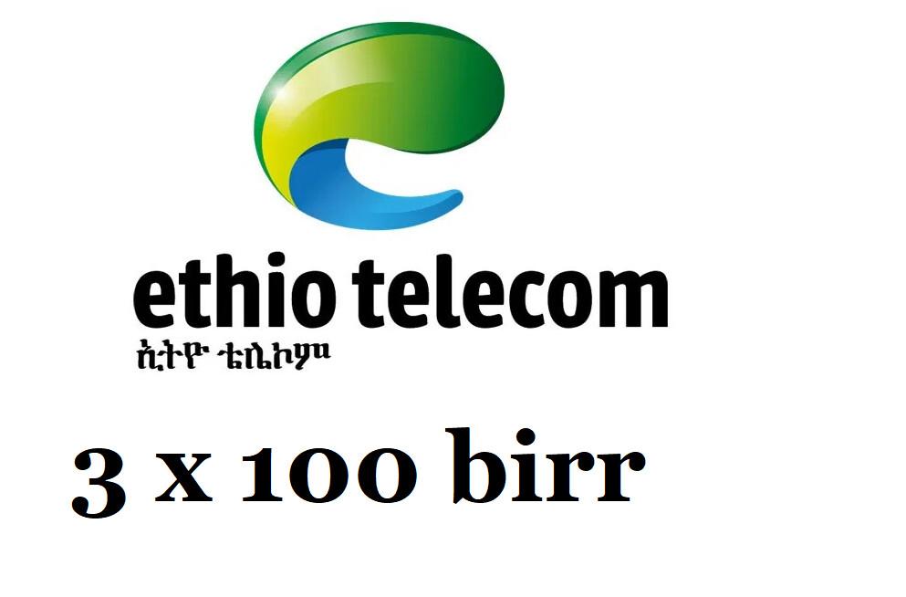 Ethiopian Mobile Phone Card 100 birr