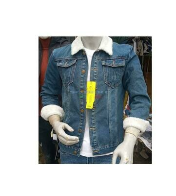 የወንዶች ጅንስ ጃኬት Jeans Jacket For Men (Ethiopia Only)