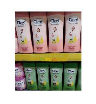 clere body lotion የገላ ቅባት