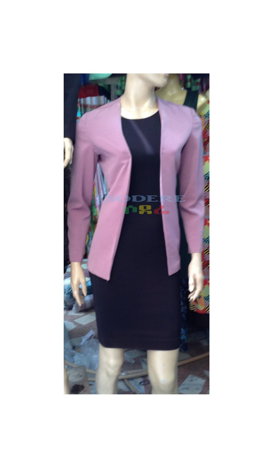 Women Jacket With Dress  የሴቶች ጃኬት ከነቀሚሱ