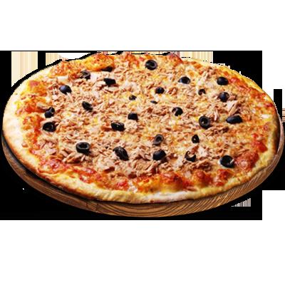 Tuna Pizza ቱና ፒዛ