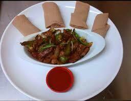 Chickena Tibs (ጭቅና ጥብስ)