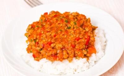 Rice Bolognaise Sauce