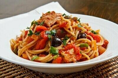 Spaghetti Tuna Sauce