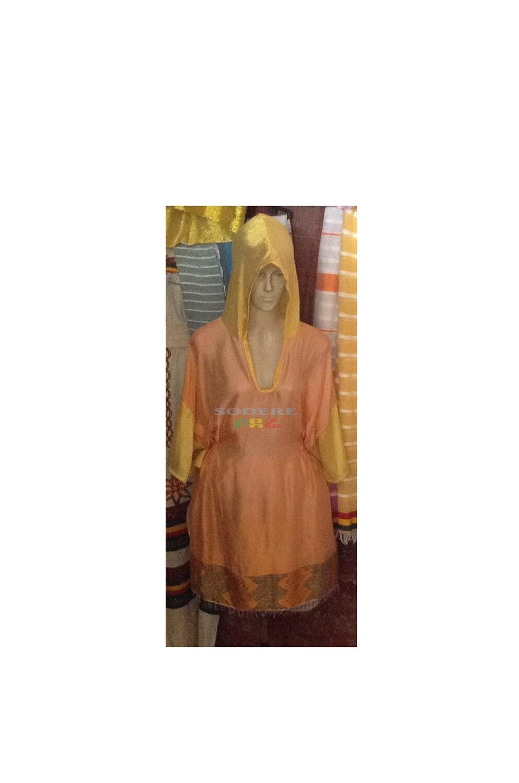 አጭር የሀበሻ ቀሚስ  Ethiopian Traditional Long Dress