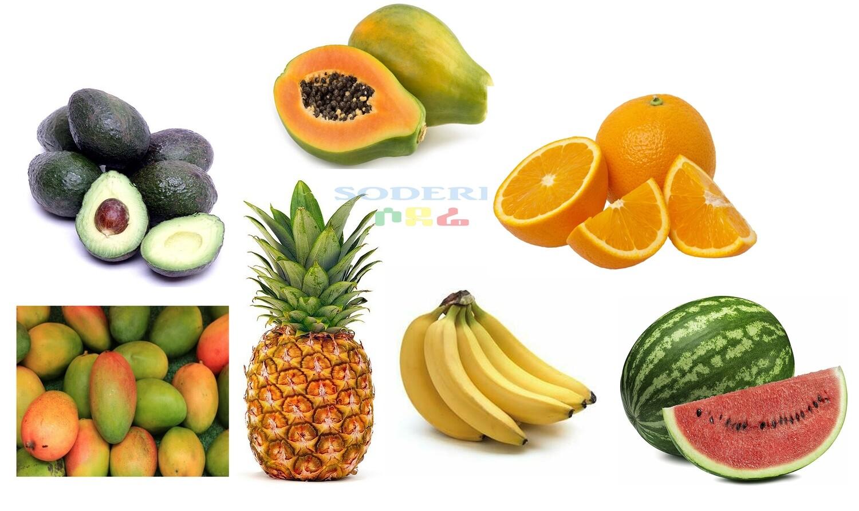 የሶደሬ የወር አስቤዛ ጥቅል ፍራፍሬ Sodere monthly Package Fruit 'D' (Ethiopia Only)
