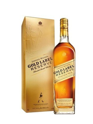 Gold label whisky