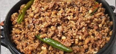 ዱለት (Assorted Minced Meat) Kategna Restaurant