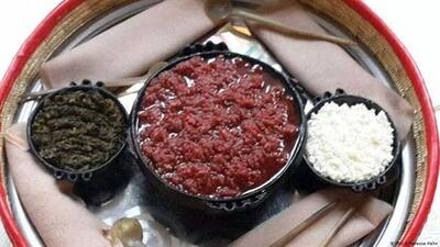 ክትፎ /Tarta beef seasoned w/butter & Spices