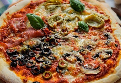 Pizza Vegetarian (Fasting)