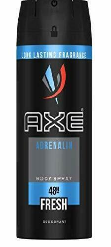 Axe Adrenaline Mens Deodorant Body Spray, 150ml
