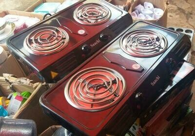 ሳቺ የኤሌትሪክ ምድጃ Saachi DOUBLE Hot Plate