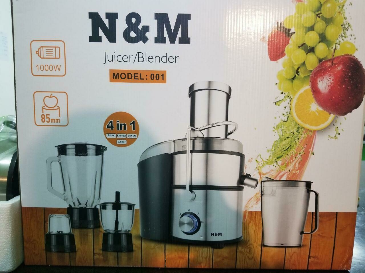 የጁስ ማሽን  N&M Juice Blender