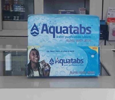 አኳታብስ የውሃ ማጣሪያ Aquatabs Water Purfilcation