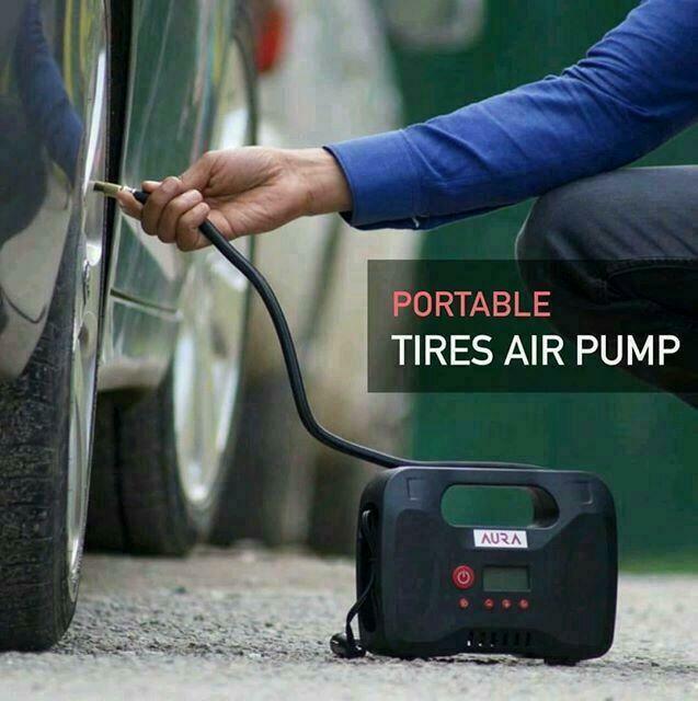 ተንቀሳቃሽ የንፋስ መሙያ portable air pump