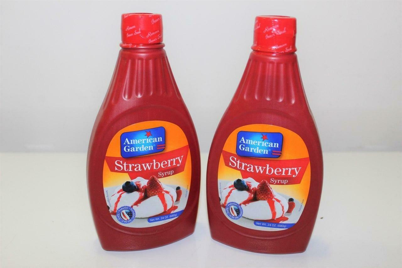 Strawberry Syrups ስትሮቤሪ ሲይረብ