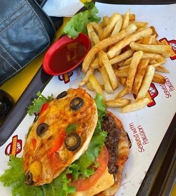 Burgerizza (Pizza Burger)