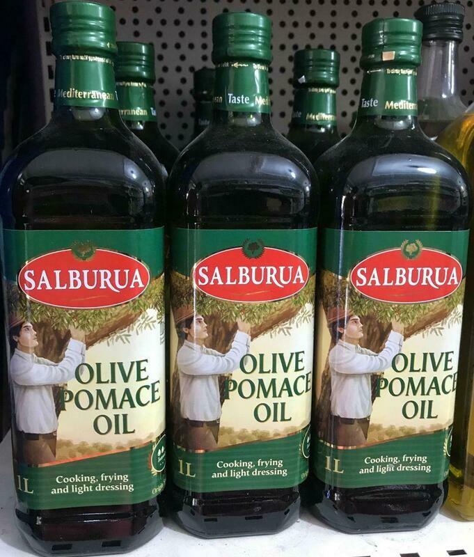 ሳልቡራ ኦሊቭ ዘይትSalburua Olive Pomace oil