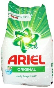 ኤሪያል  የዱቄት ሳሙና Ariel Original Detergent Powder