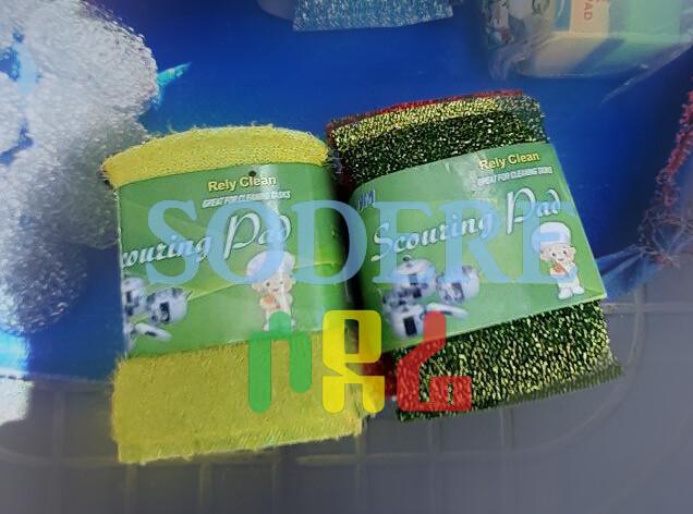 እቃ ማጠቢያ እስቦንጅ Dishwasher Sponge