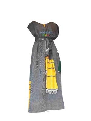 አጠር ያለ የሀበሻ ቀሚስ  Ethiopian Traditional  Dress