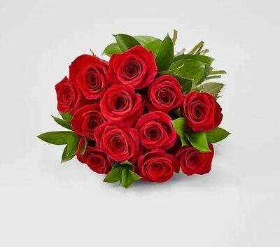 ፅጌረዳ Red Roses Bouquet