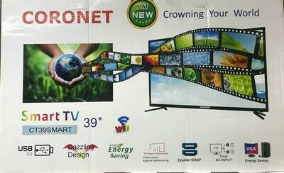 ኮሮኔት Coronet 39 Inch TV