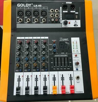 ጎልዲ ፕሮ ሚክሰር  GOLDY LA-40 Pro Mixer