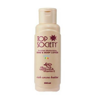 TOP SOCIETY Hand And Body Lotion