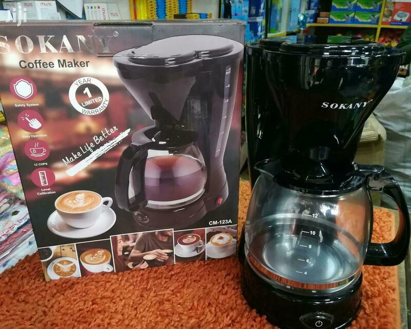 ቡና ማፋያ ማሽን SOKANY COFFEE MAKER
