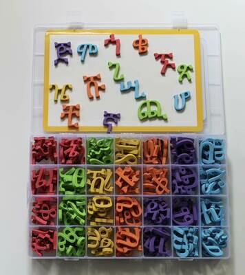 የፊደል መማርያ ማግኔት ለልጆች Amharic Fidel Letters Magnetic | All 231 alphabets | Geez