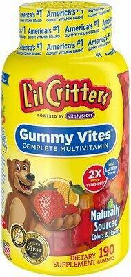 የልጆች  መልቲ ቫይታሚን Kids Gummy Vitamins, 190 Count