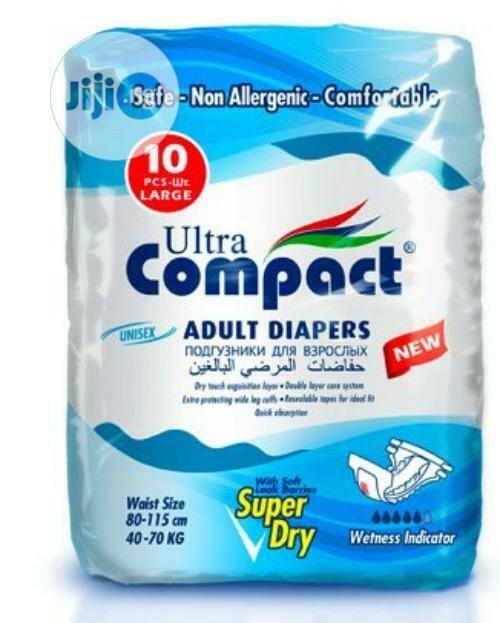 ኮምፓክት የትልቅ ሰው ዳይፐር Ultra Compact Adult Diaper