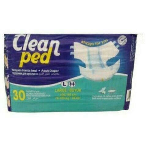ክሊን ፔድ የትልቅ ሰው ዳይፐር Clean Ped Adult Diaper
