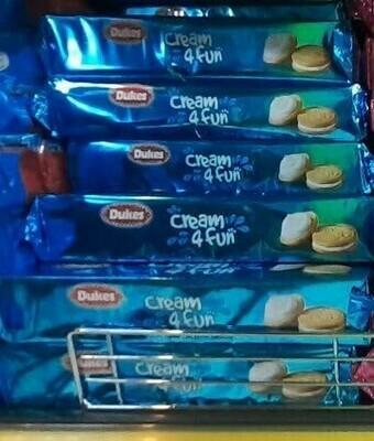 Dukes Cream 4 Fun Bisuits