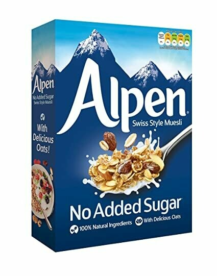 Alpen Cereal No Added Sugar
