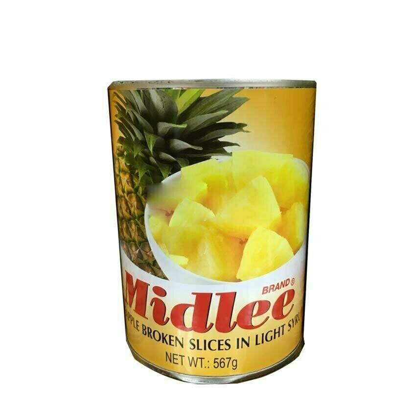 Midlee Pineapple Broken Slices, 567g