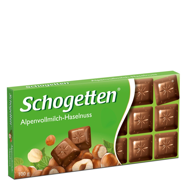 Schogetten Alpine Milk Hazelnut Chocolate 100g