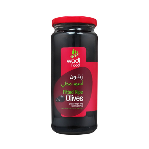 Wadi Food Pitted Ripe Olives
