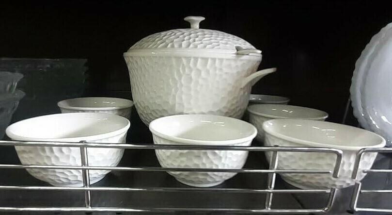 የምግብ ማቅረቢያ ጎድጓዳ ሳህን Serving Bowl Set