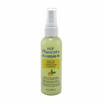 Hask Hnp Conditioner Leave-in Placenta Plus Argan Oil